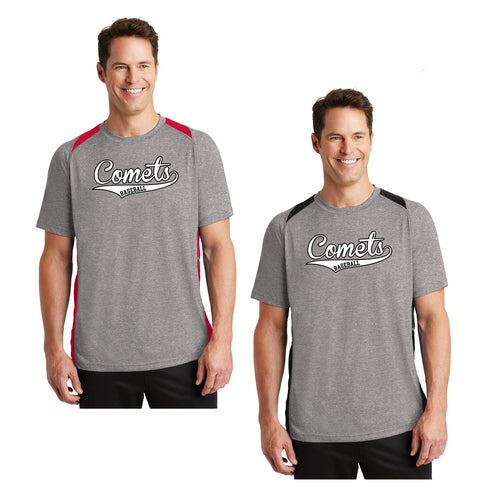 Adult - Unisex Colorblock Contender Perforamnce Tee - Comets Baseball