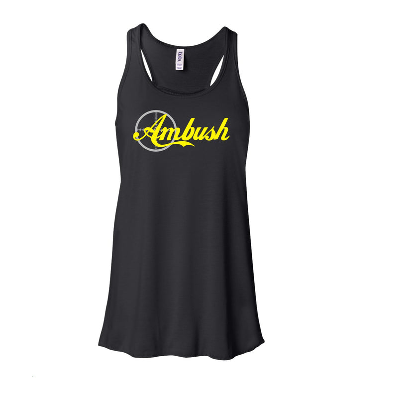 Adult - Ladies Flowy Racerback Tank - Ankeny Ambush