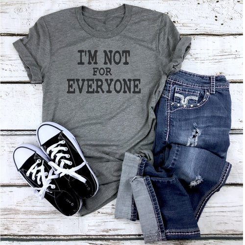 Unisex Triblend Tee - I'm Not For Everyone