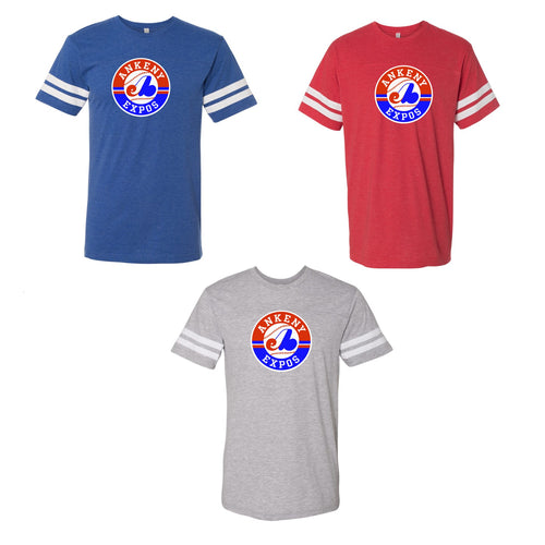 Adult - Fine Jersey Tee- Ankeny Expos