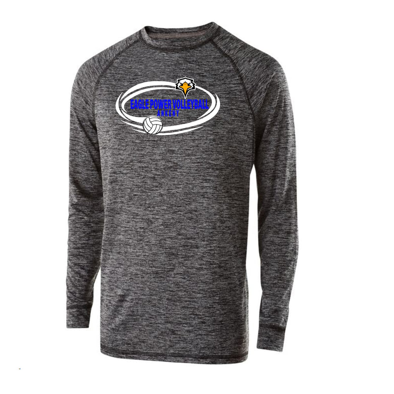 Youth Electrify Long Sleeve Performance Shirt - Eagle Power Volleyball