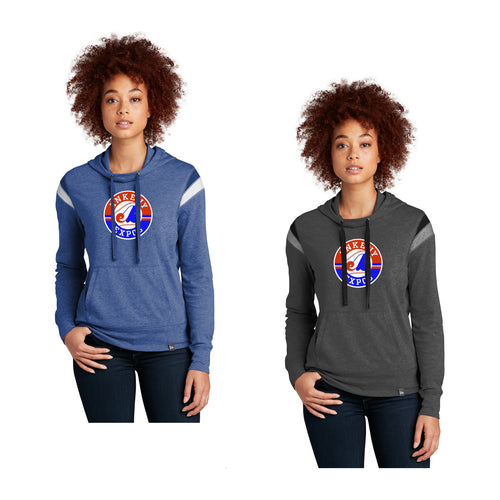 Adult -  Ladies Heritage Blend Varsity Hoodie