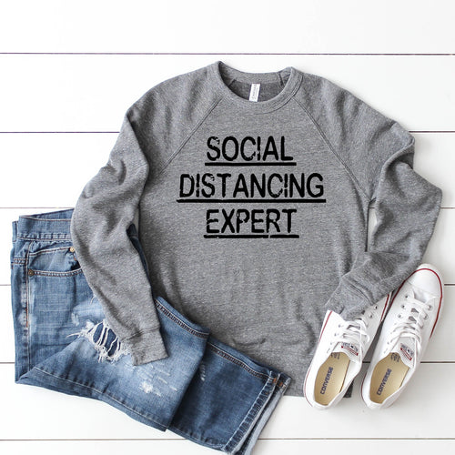 Social Distancing Expert - Unisex (4 Color Options)