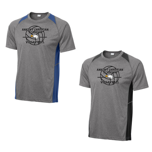Unisex Colorblock Contender Perforamnce Tee - Ankeny Christian Academy (2 Color Options)