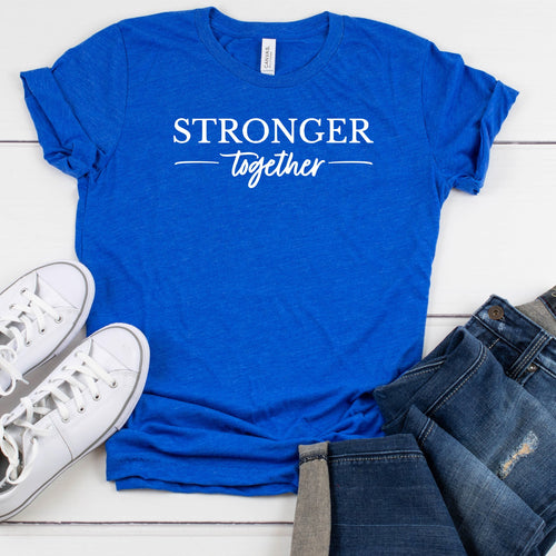 Stronger Together - Unisex Triblend Tee