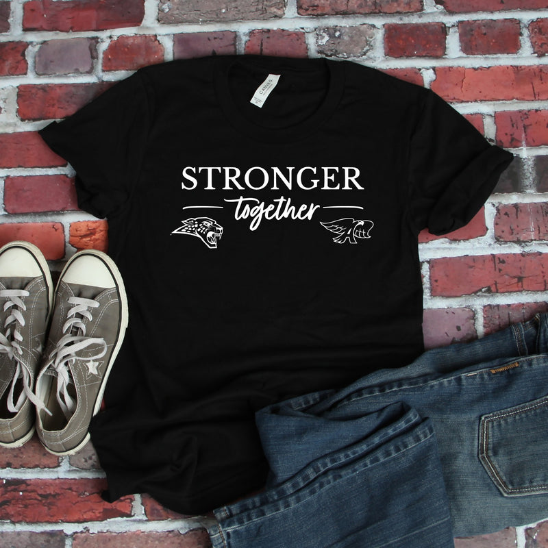 YOUTH - Stronger Together - Unisex Triblend Tee (Hawks/Jags)