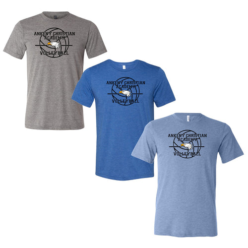 Unisex Triblend Tee - Ankeny Christian Academy (3 Color Options)