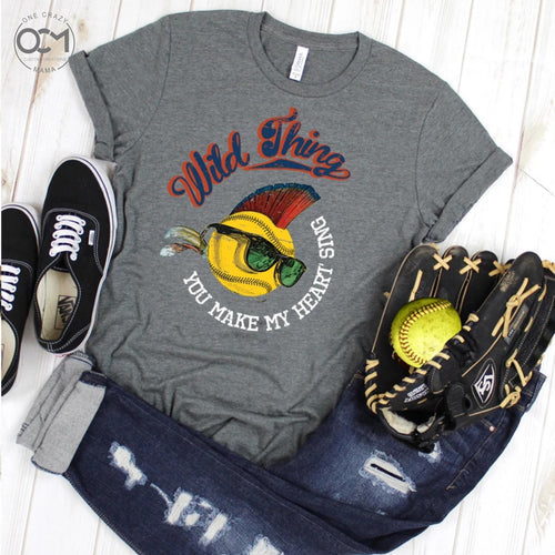 Wild thing you make my heart sing ...Unisex Jersey Tee