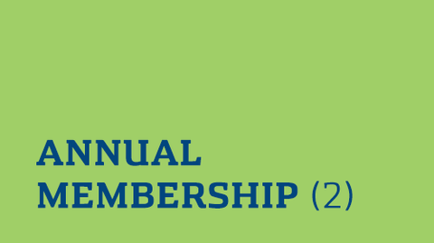 Annual Membership (2 Pack) E-Gift Certificates
