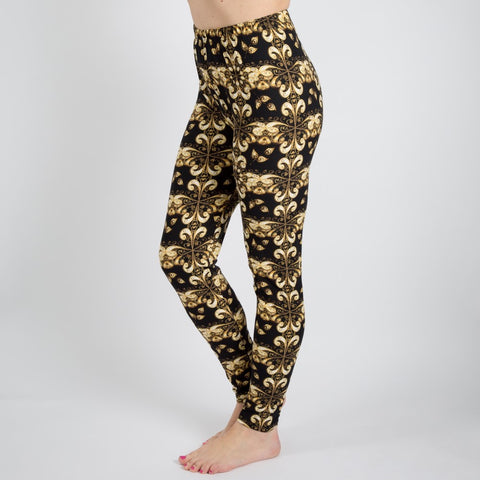 PRINT LEGGINGS-REGULAR