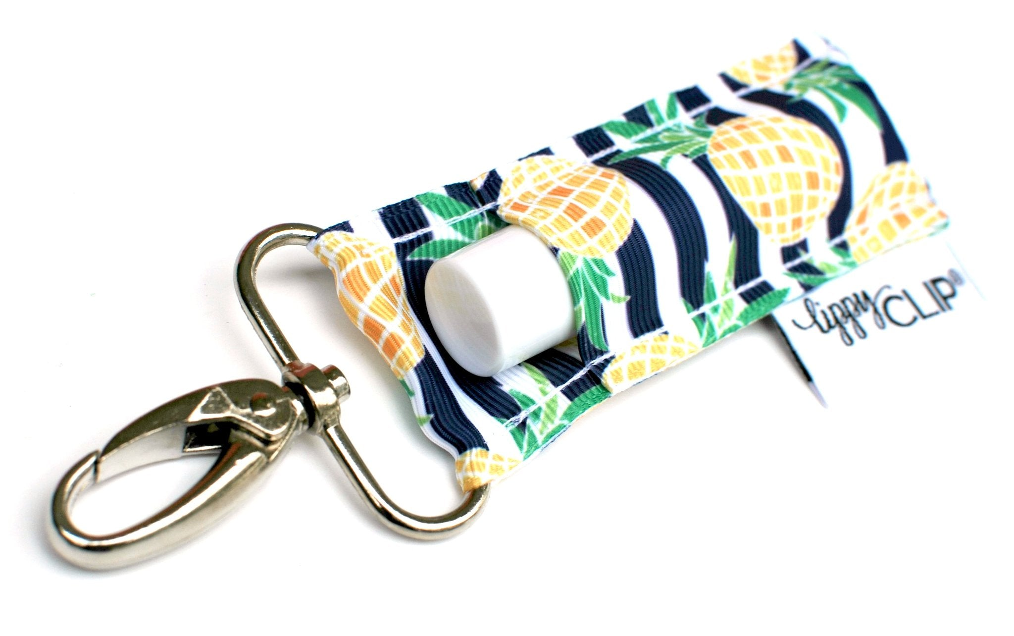 NAVY AND WHITE STRIPE WITH PINEAPPLES
