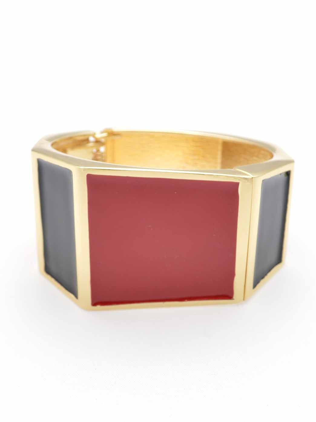 COLOR BLOCKS CUFF BRACELET