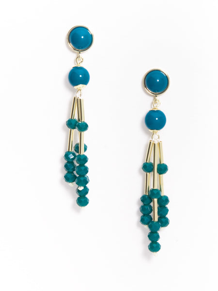 COLORFUL BEAD EARRING