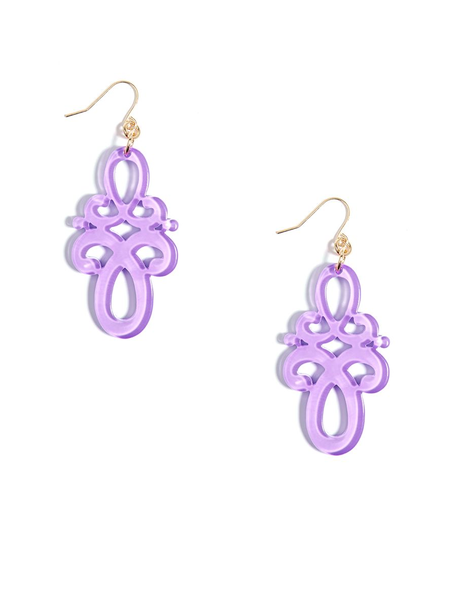 DOUBLE SCROLL EARRING