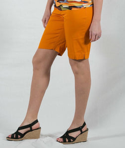 ZIPPER POCKET BERMUDA SHORTS