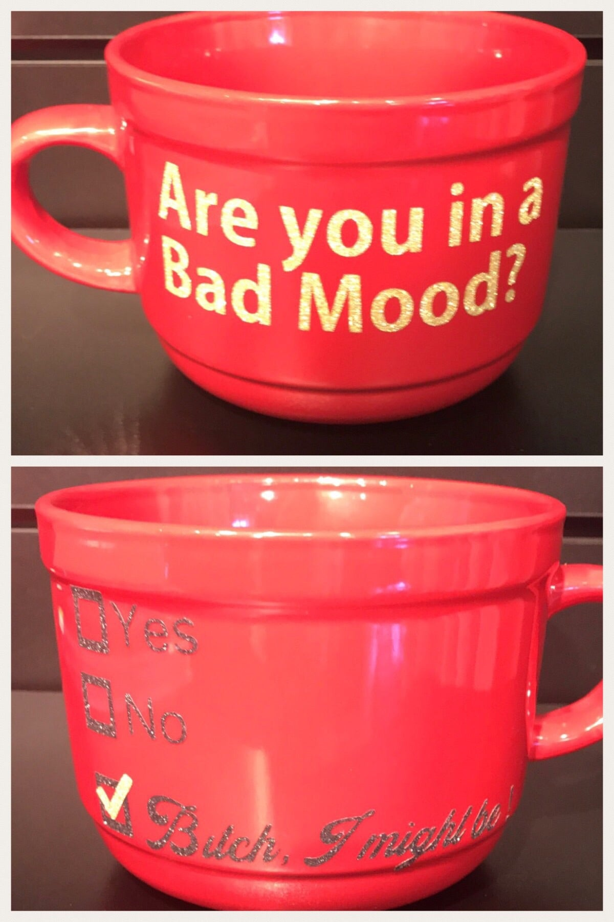 ARE YOU IN A BAD MOOD