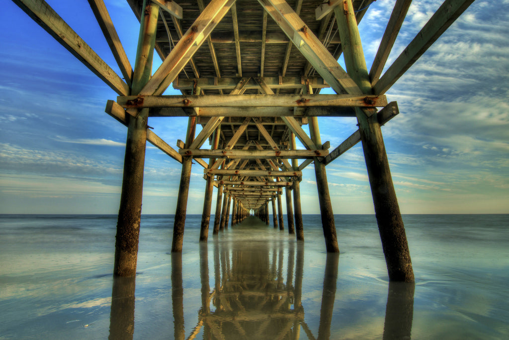 Fishing Pier Reflections