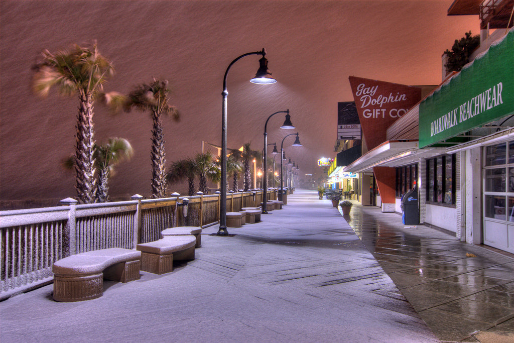 Boardwalk Snowfall