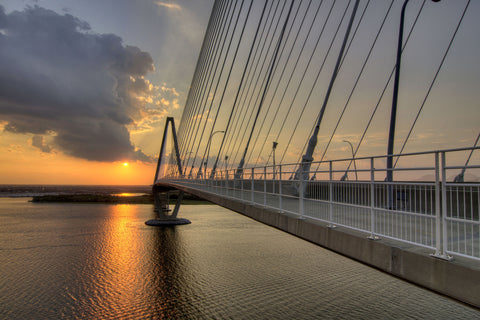 Sunset on the Ravenel