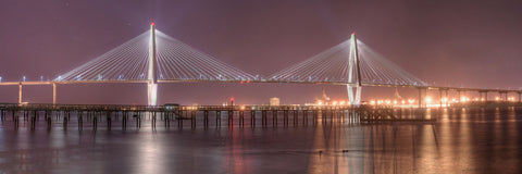 Ravenel Bridge at Night