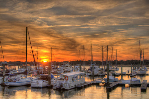 Marina Sunset