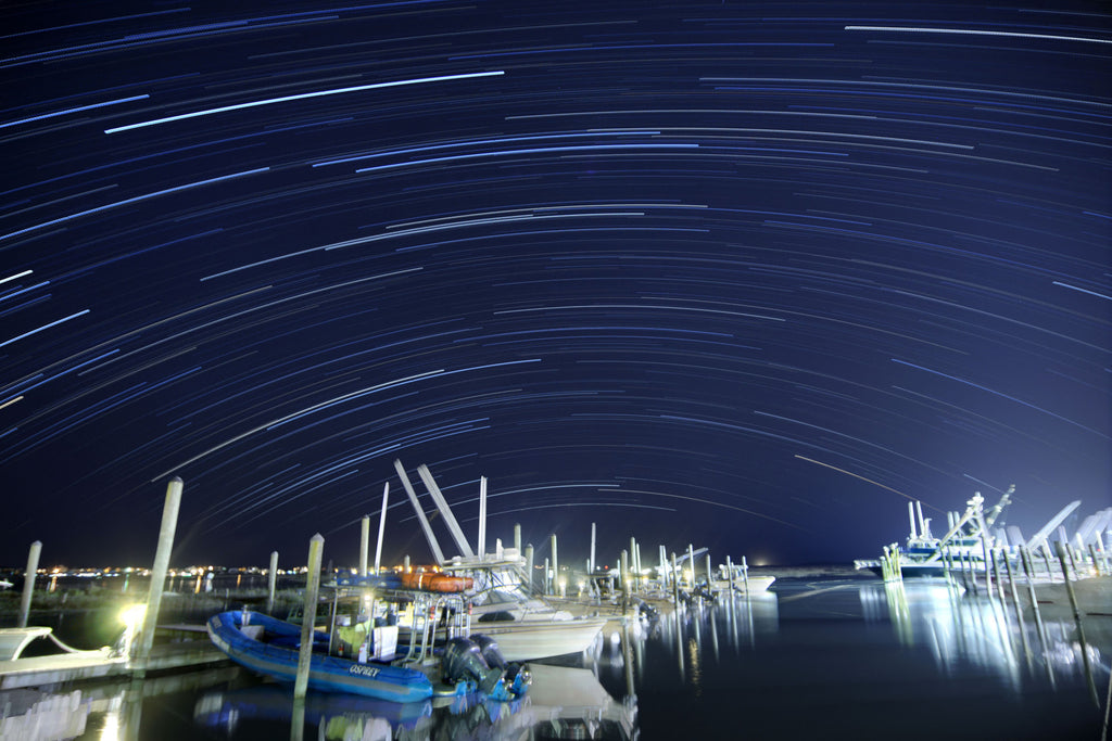 Marina Star Trails