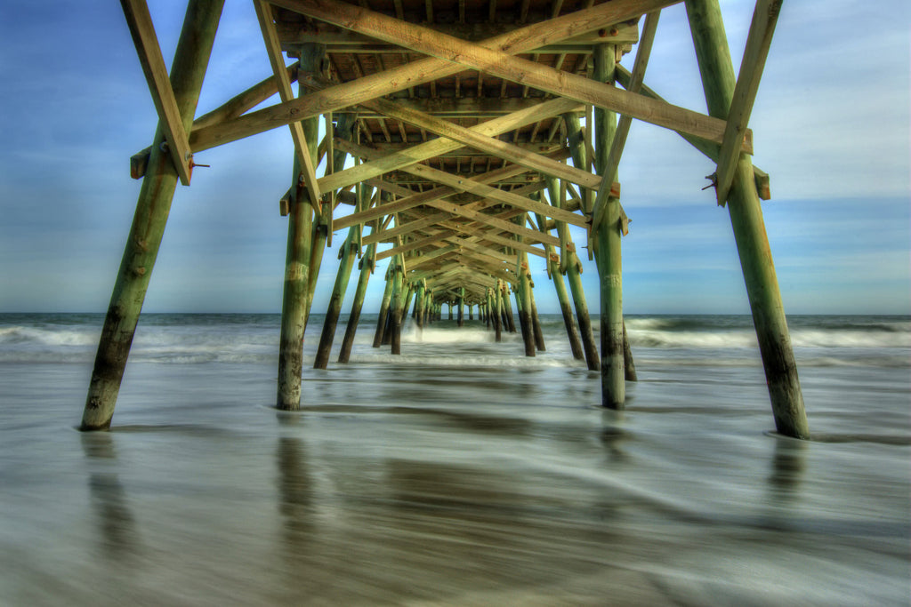 Waves Under the Pier