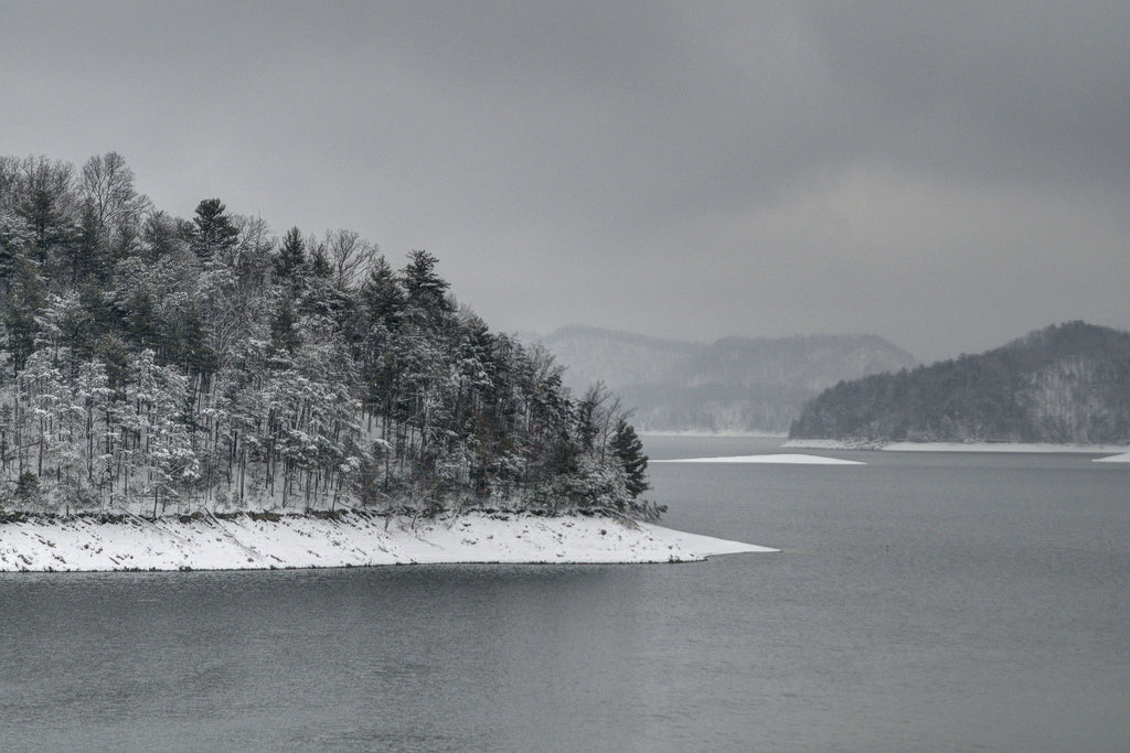 Snow on the Lake