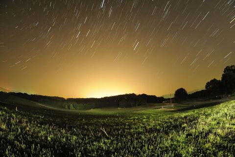 Bright Star Trails
