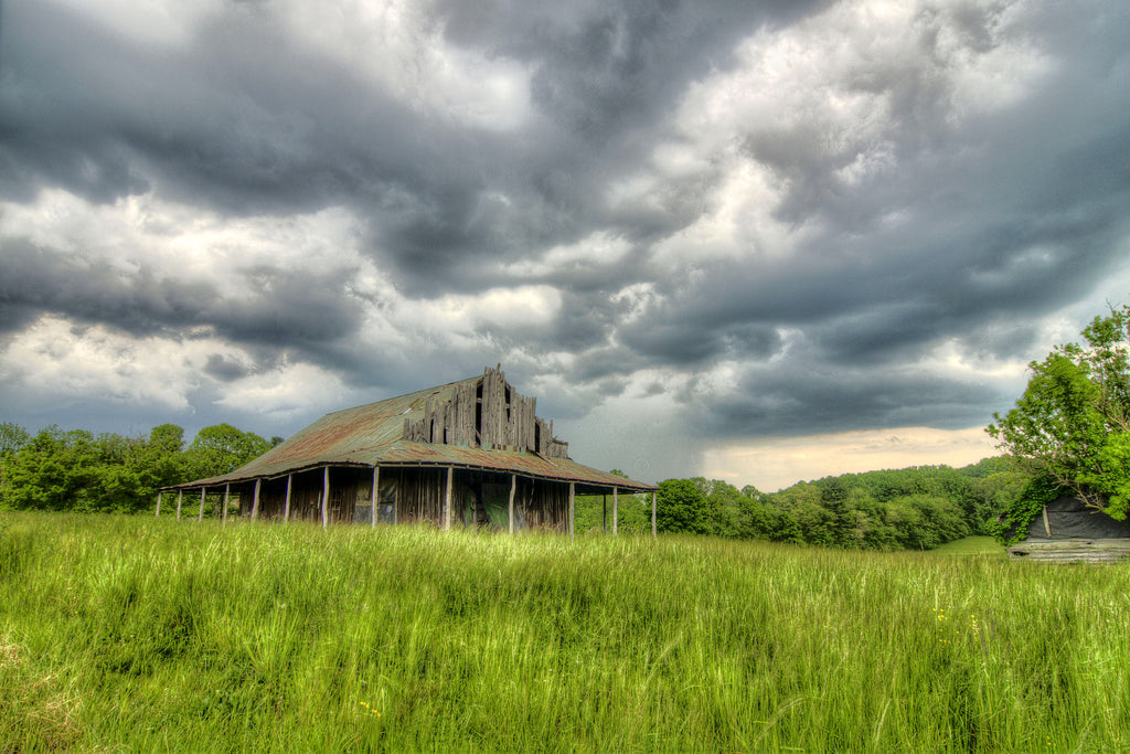 Storm at the Barn