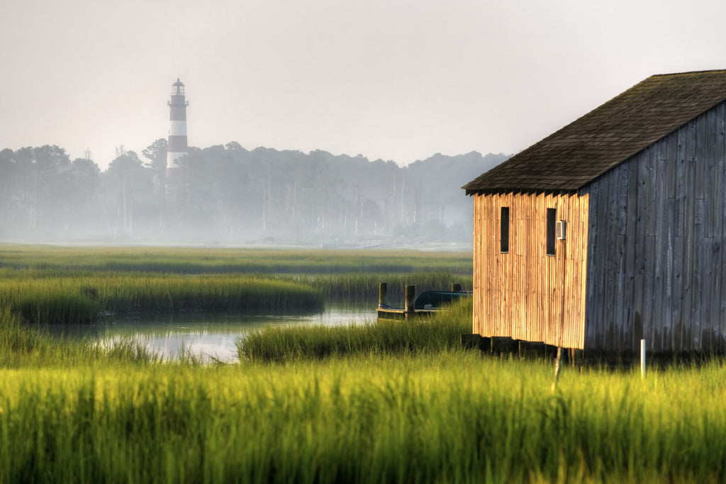 Rustic View of the Lighthouse