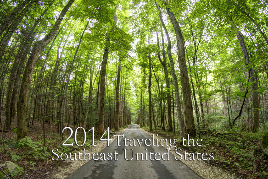 2014 Traveling the Southeast United States Calendar