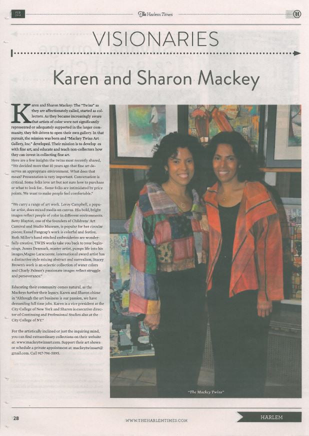 Mackey Twins Art In The News