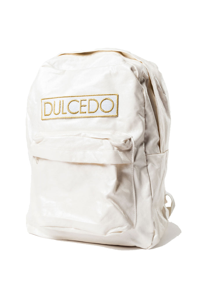 WHITE DULCEDO BACKPACK