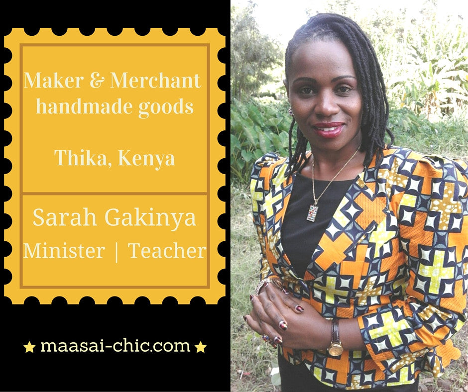 Meet the Maker | Sarah from Kenya