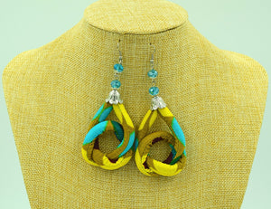 Ankara Knot Earrings