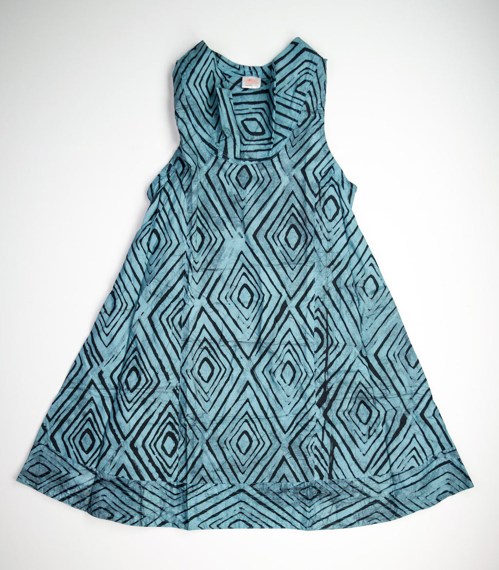 Eli Dress - Print Diamonds
