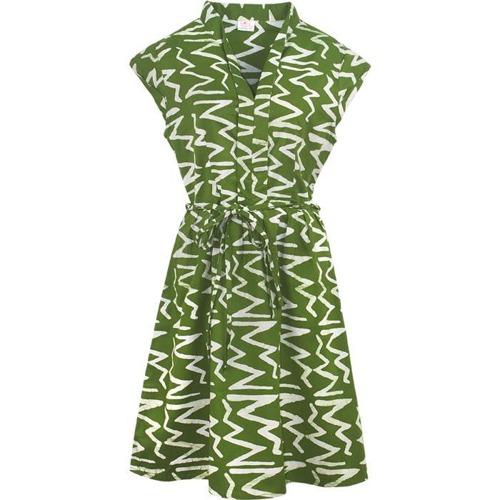 Retro Dress - Print Rhythm
