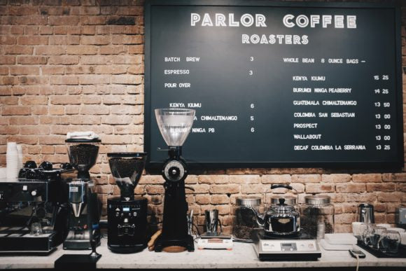 Parlor Coffee brooklyn