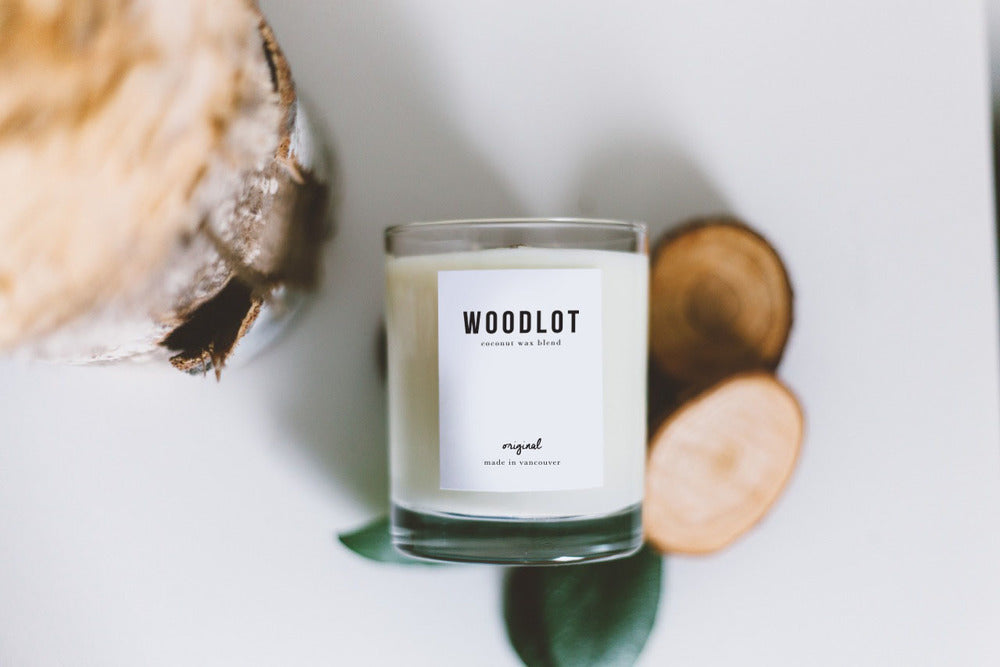 Woodlot  Organic Candles Eco Candles