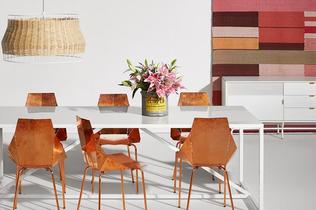 Charmant Bludot Is The Place To Go To Find Unique Furniture To Accentuate A  Minimalistic Apartment. Check Out These Copper Real Good Chairs That Pair  Beautifully ...