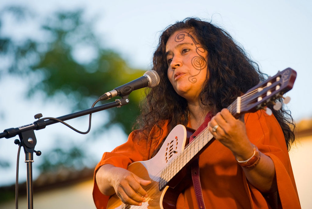 Environmental Artists: Singer Guadalupe Urbina from Costa Rica