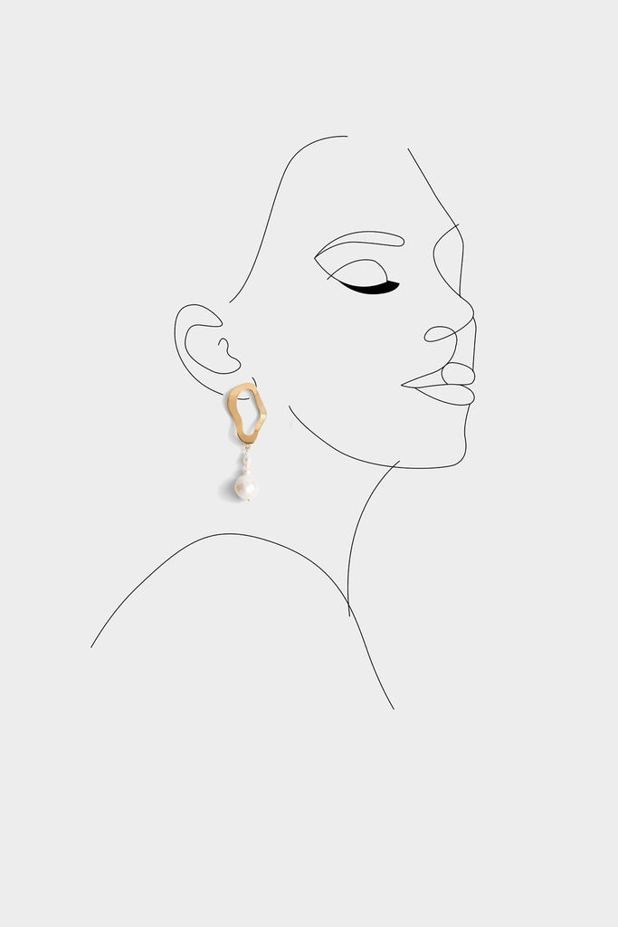 Andrea W Trio Pearl Earrings