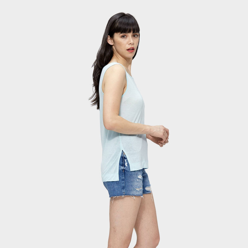 The Tank, blue, Tencel, eco-friendly, sustainable, affordable, direct to customers