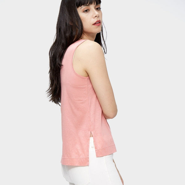 the tank, Pink, Tencel, Cotton, eco clothing, natural clothing, green clothing, luxury clothing, organic clothing, affordable clothing, eco friendly tee