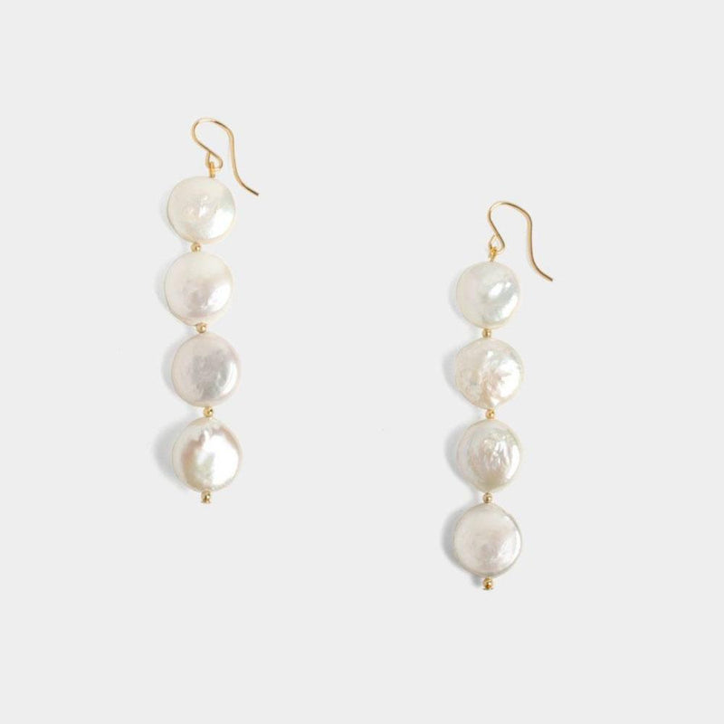 Ayla Coin Earrings