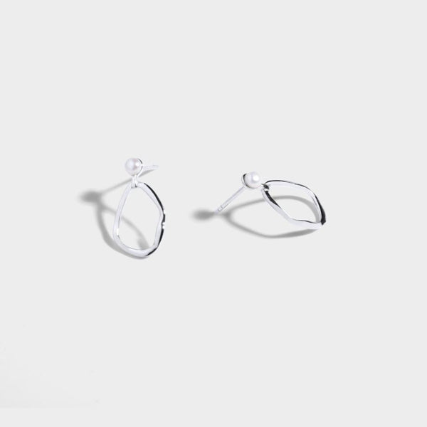 Adalene Earrings Silver