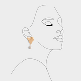 Amaya Twins Pearl Earrings