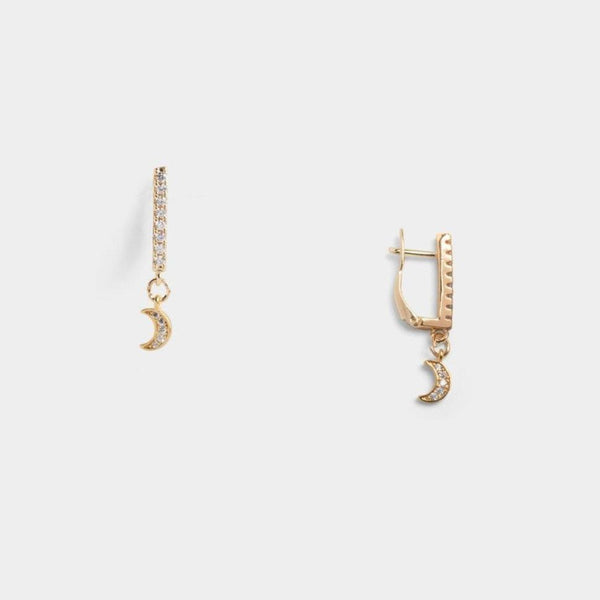 Ana Bar Moon Earrings