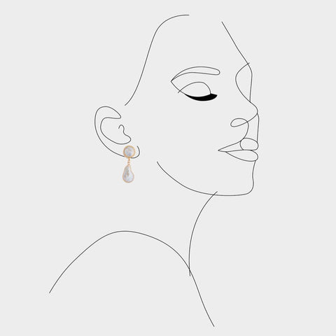 Arlo Pearl earrings